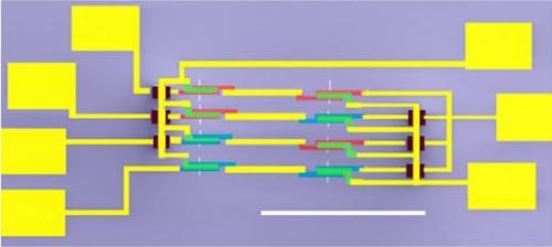 Najbardziej skomplikowany dot�d uk�ad z nanorurek w�glowych