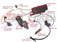 Uk�ad �adowania akumulatora �elowego z cewki silnika