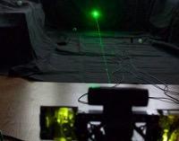 Modernizowana wieżyczka laserowa na DEFCONBOTS 2015