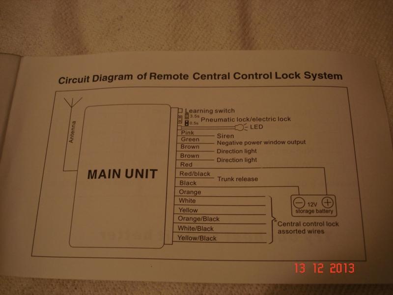 Schemat pod��czenia alarmu-Ford Galaxy mk2