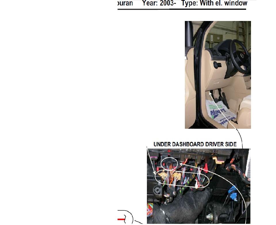 touran - modu� komfortu nie dzia�a pilot