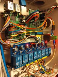 Multisterownik/ multikontroler kotłowni na Raspberry Pi B+