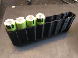 Zgrzewarka na transformatorze z mikrofalówki, arduino i płytą osb.