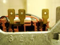 Zmywarka Bosch SGS 5622 pompa myjąca opis styków.