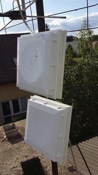 Projekt anteny do LTE na cz�stotliwo�� 1800 MHz wraz z instalacj�