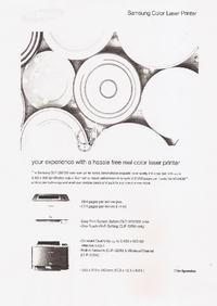 Brak kolorów Samsung CLX-3185