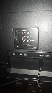 Podłączenie głośnika do telewizora JVC LT40C860