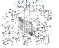 klimatyzcja audi a6 c4 2,5 tdi który czujnik przy skraplaczu gdzie powinien być