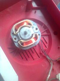 Farelka Farel urwane mocowanie silnika