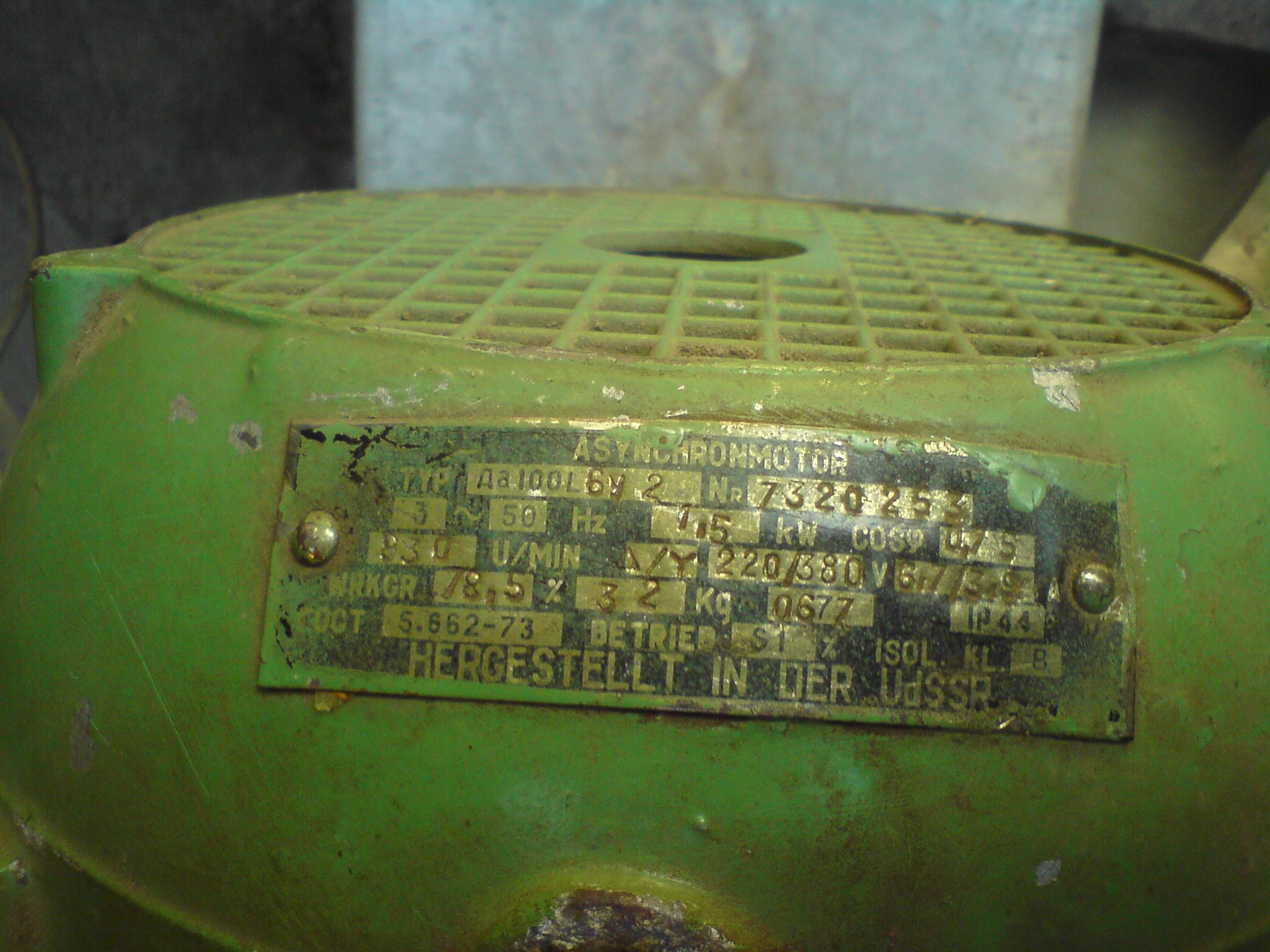 Jaki termik i styczniki do silnika?