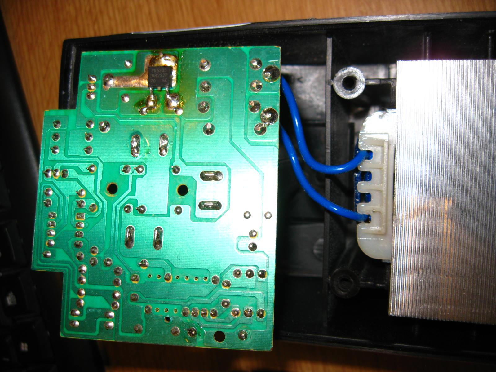 Sparky/BR2 12E-CH - spalony tranzystor-najprawdopodobniej