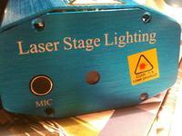 Uszkodzony laser. Nie Świeci jeden kolor