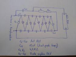 Przetwornica impulsowa 12V->90V z tym, że na wyjściu musi mieć prąd przemienn