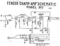 Budowa wzmacniacza Fender Champ