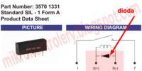 Dobór diody do elektromagnesu.