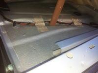 audi a3 - mokra podłoga pod dywanikiem