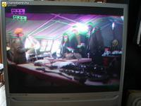 SAMSUNG SP43T8HE - zakrzywienie obrazu w górnej części ekranu