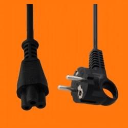 [Sprzedam] Sprzedam kabel zasilaj�cy do laptopa z koniczynk� czarny 1m gruby