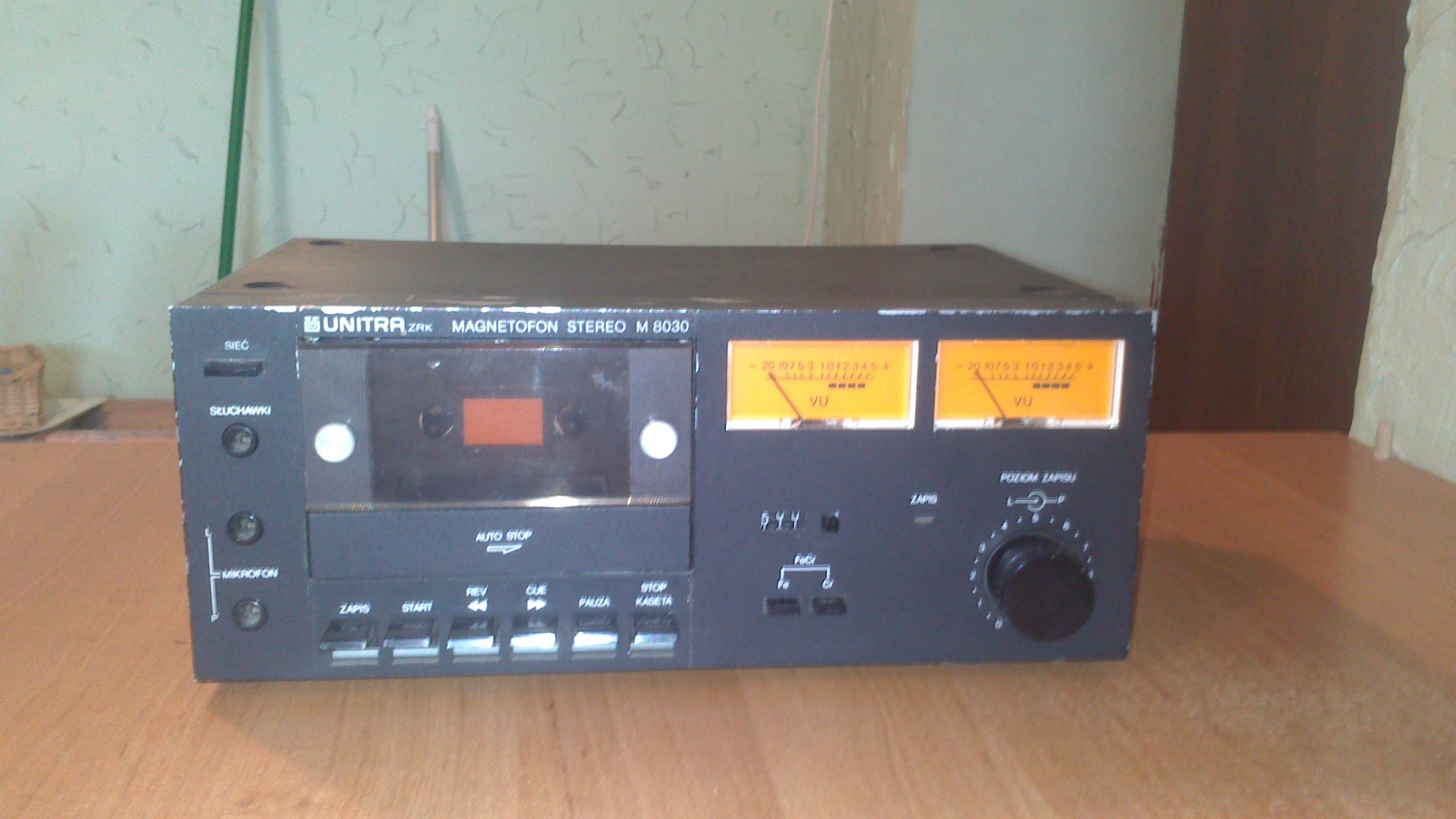 [Sprzedam] UNITRA ZRK M 8030, odtwarzacz SANYO RD-220, ZRK M9115, tuner unitra