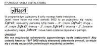 Domofon CDN- zmiana kodu lokatora