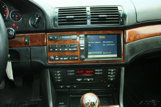 BMW E39 530D - Pod��czenie aux do fabrycznego radia 4:3