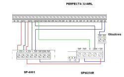 Satel Perfecta podłączenie sygnalizatorów