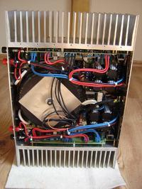Wzmacniacz mocy 2 x 500W (końcówka mocy) do domu i na imprezę