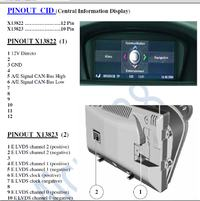 BMW E60 CID jako matryca do projektora