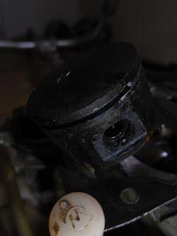 Kosa Maruyama BC5020H-RS - zatarta, przyczyna, dobór tłoka?