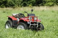 W�asna konstrukcja ci�gnika oraz quada z silnikiem Fiat 126p