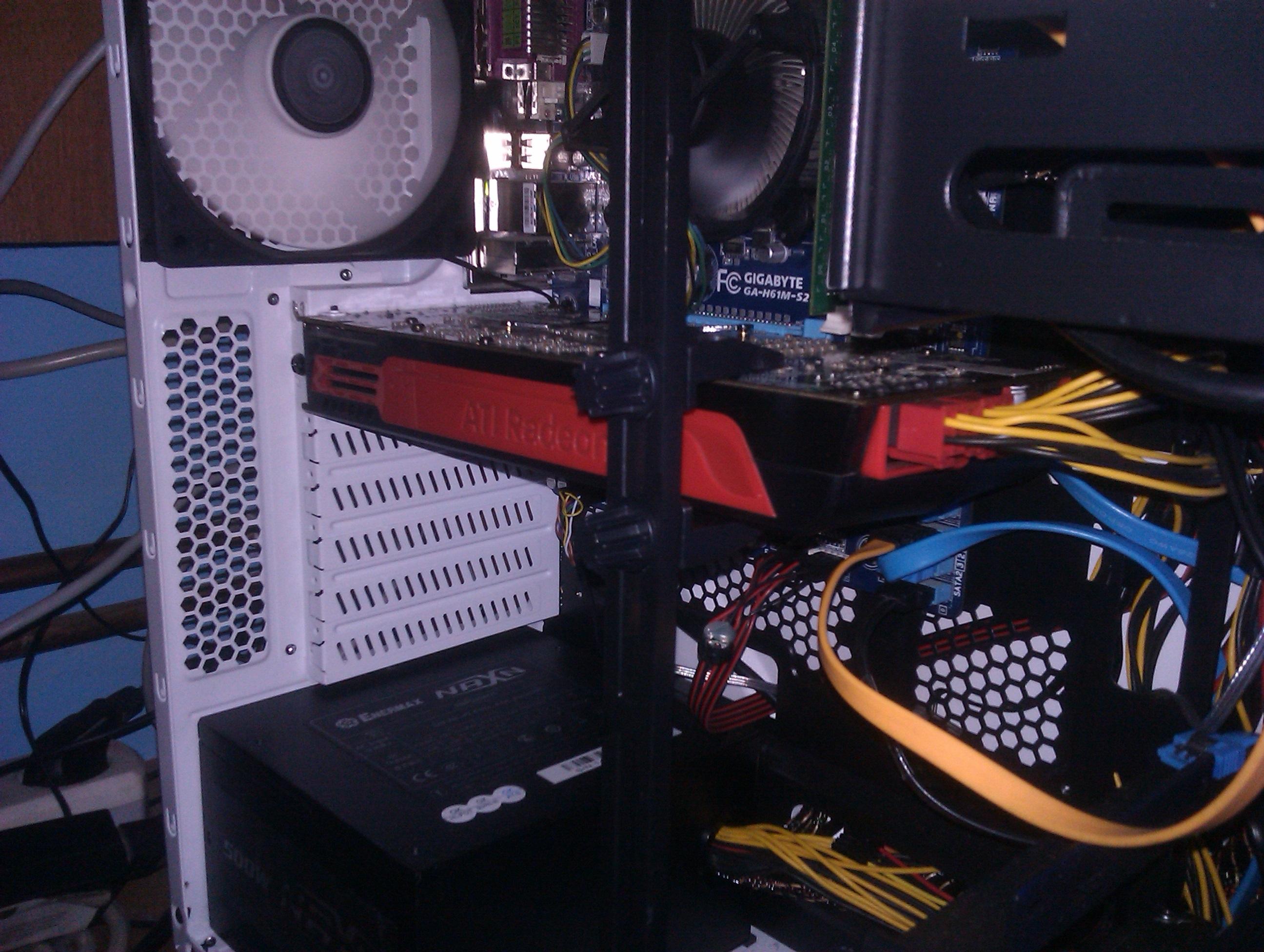 Radeon HD5850 - Problemy z uruchomieniem komputera za pierwszym razem