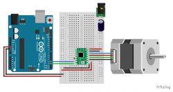 Arduino driver A4988 and NEMA 17