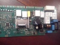 Zmywarka/Siemens/SN66T096EU32 - Popalone ścieżki/elementy na module