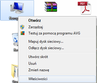 Zmiana nazwy grupy roboczej w Windows 7