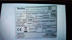 Chłodziarko-zamrażarka Amica - Rok produkcji?