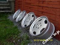 Sprzedam Komplet Aluminiowych felg RH 8J x 16 - 5x112