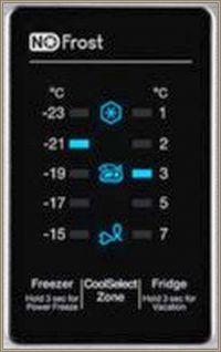 Lodówka Samsung RB29FERNCSS - migają dwie diody na panelu