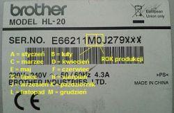 Brother HL-2035 - blade wydruki. Zużyty bęben światłoczuły?