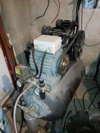 Wymiana olejów w sprężarkach chłodniczych copeland XK0,4L