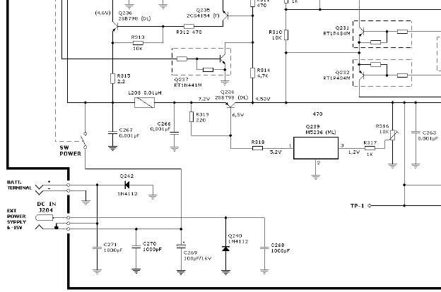Alan CT-145 Uszkodzenie stabilizatora czy tranzystora ?