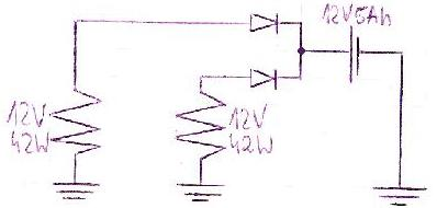 Simson S-51- modyfikacja instalacji elektrycznej