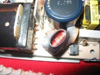 Uszkodzony zasilacz od routera Cisco.