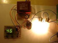 Triakowy regulator AC z mikrokontrolerem PIC
