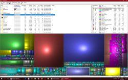 Windows 10 - Mało miejsca na dysku C zajęte 180GB a pliki mają tylko 100GB.