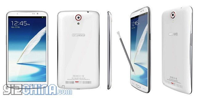 Actwell i6000 - chi�ski smartphone z ekranem o przek�tnej 6,5 cala