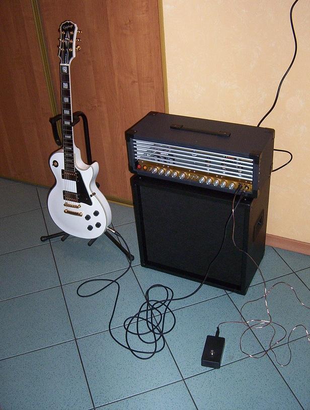 Wzmacniacz gitarowy Red Baron + kolumna 1x12' by DaKKi