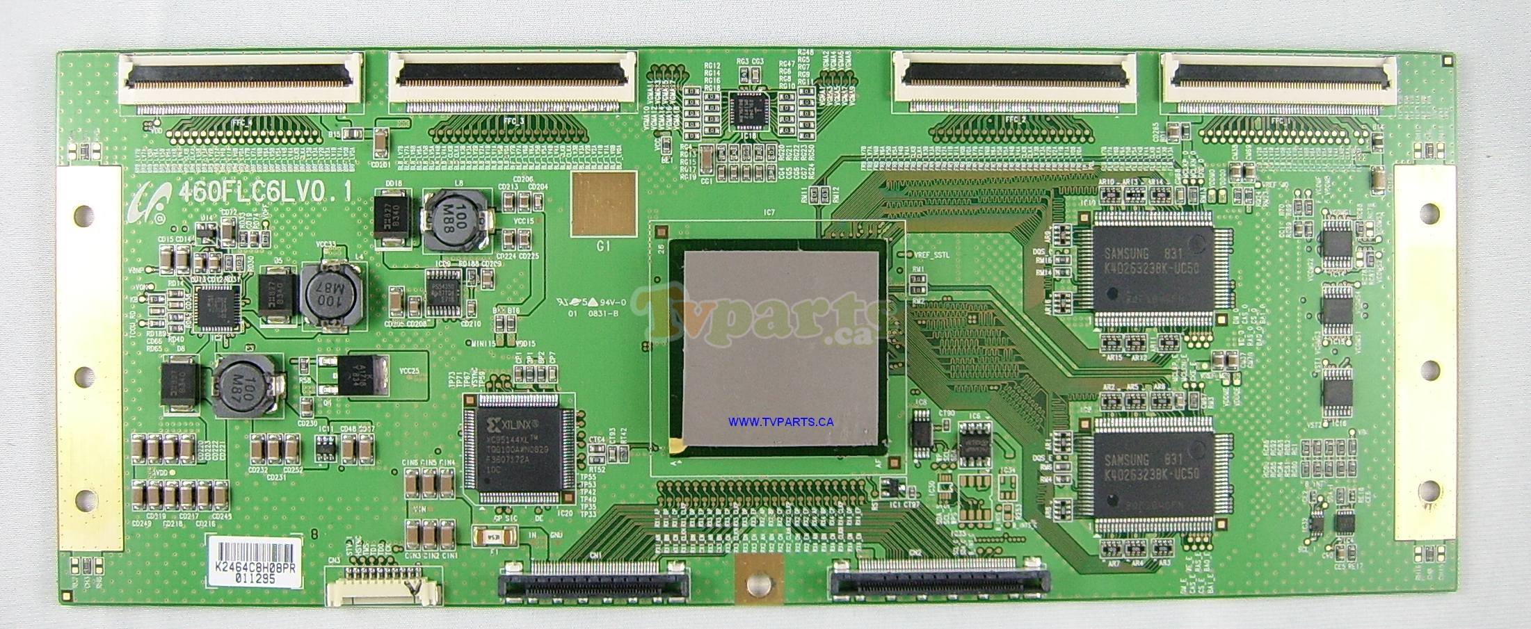 LCD TV Sony Bravia KDL-46X4500AEP - vertical stripes on the