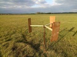 Turbina wiatrowa do napowietrzania stawu