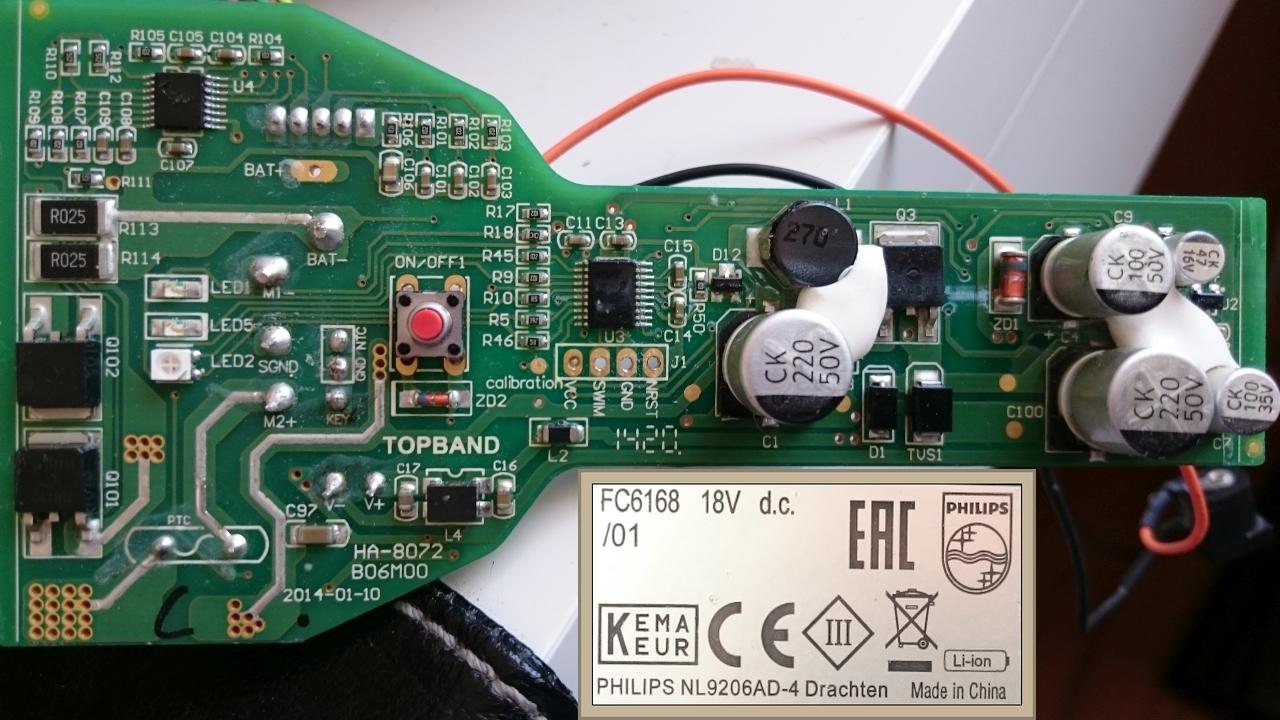 Odkurzacz Philips Fc616801 Nie ładuje Miga Szybko Czerwona Dioda