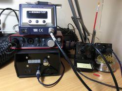 Stacja lutownicza DIY Weller WMRP oraz WMRT